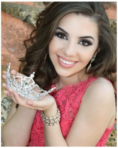 Juliette Valle, Miss Fort Lauderdale's Outstanding Teen 2017